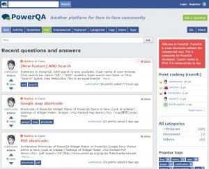PowerQA Q&A